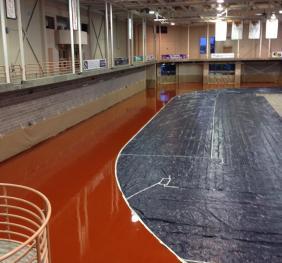 Sports Arena New Indoor Track